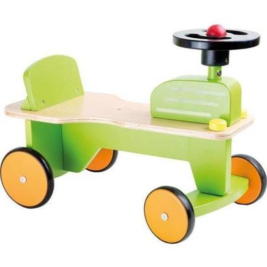 Jeździk Chodzik dla Dzieci Traktor Traktorek z Klaksonem Kierownicą Gumowe Opony Small Foot